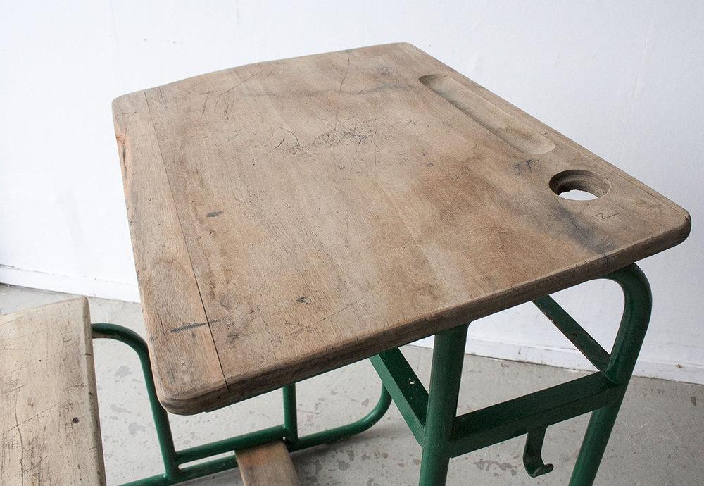 1p schoolbankje donkergroen frame - Firmazoethout_4.jpg