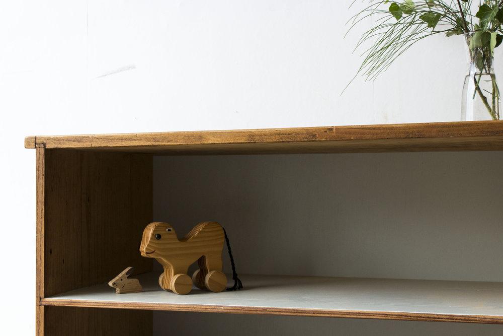 Vintage open boekenkastje -  Firma zoethout_1.jpg