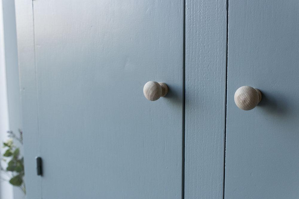 Kust blauwe vintage kledingkast -  Firma zoethout_4.jpg