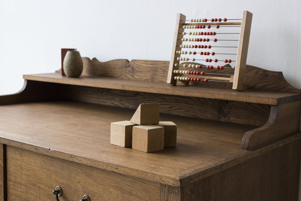 3159 - eikenhouten vintage bureau - Firma zoethout_5.jpg