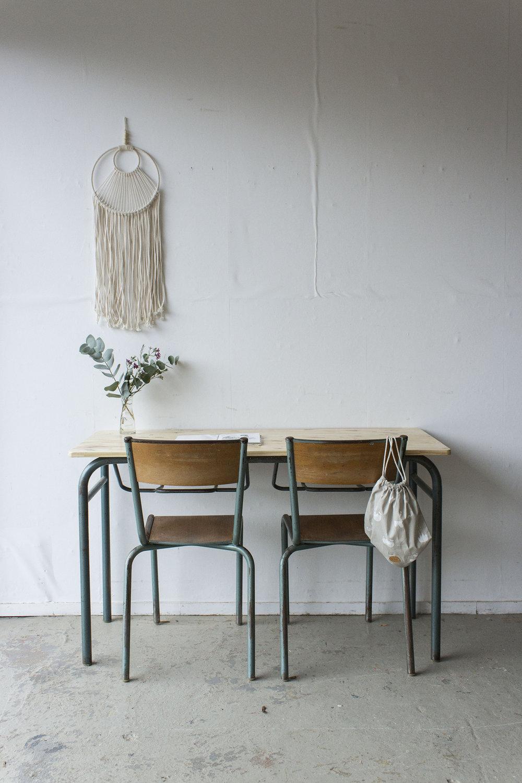 3177 - 2p schooltafel met blank houten blad - Firma zoethout_3.jpg