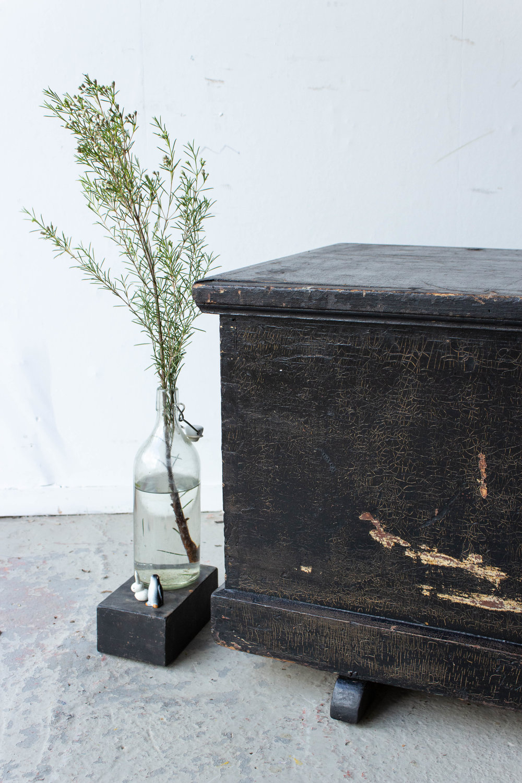 5046 - Zwarte brede kist met afbeelding Marie-2.jpg