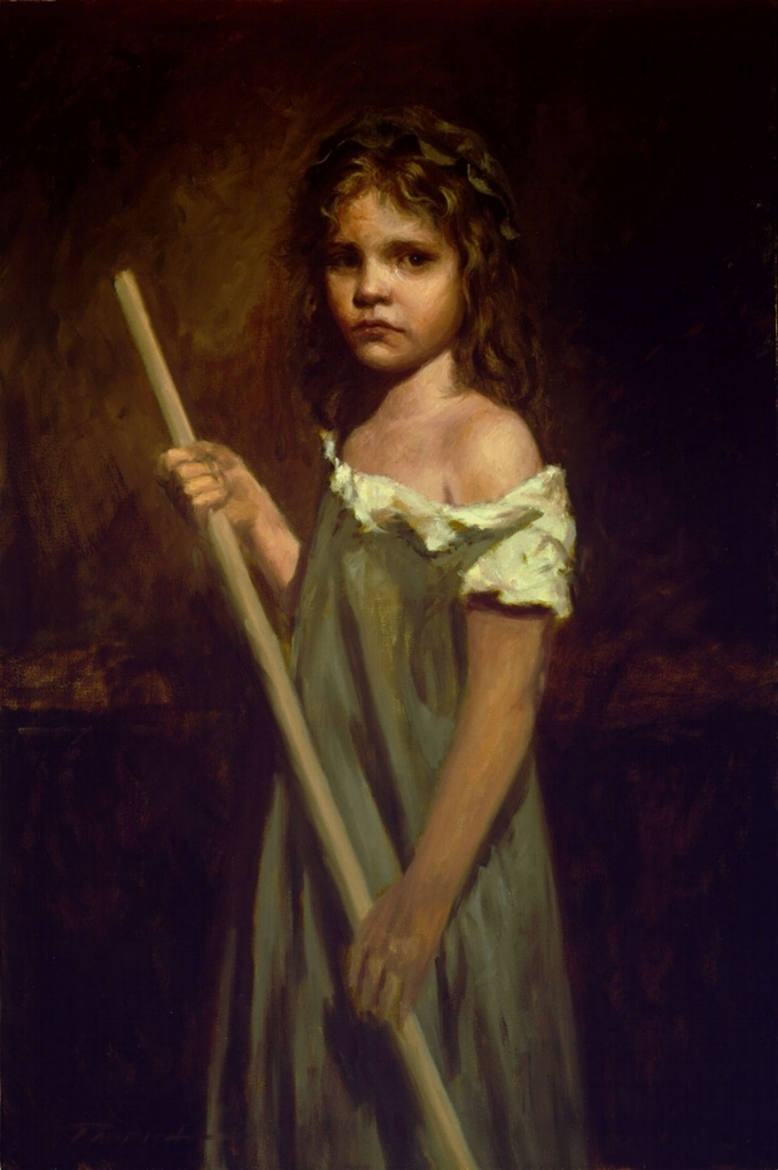 Cosette by Artist Bradley J. Parrish