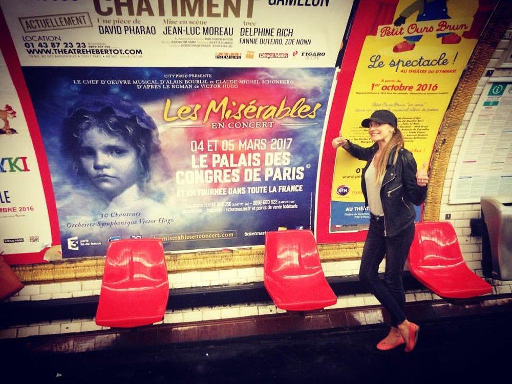 In the Subway of Paris