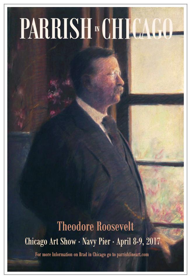 Theodore Roosevelt Copyright Artist Bradley J. Parrish