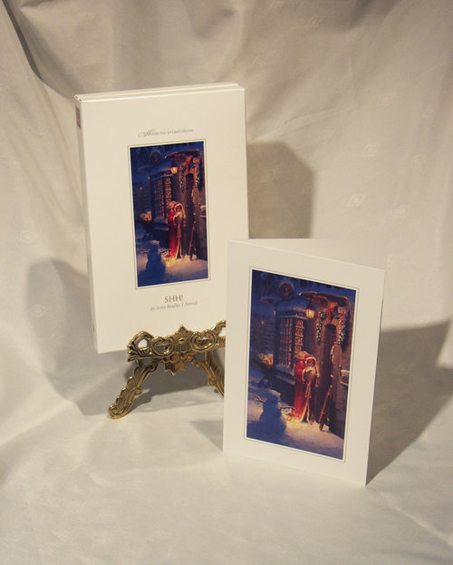 Shh fine art holiday greeting cards bradley j parrish shh fine art holiday greeting cards m4hsunfo