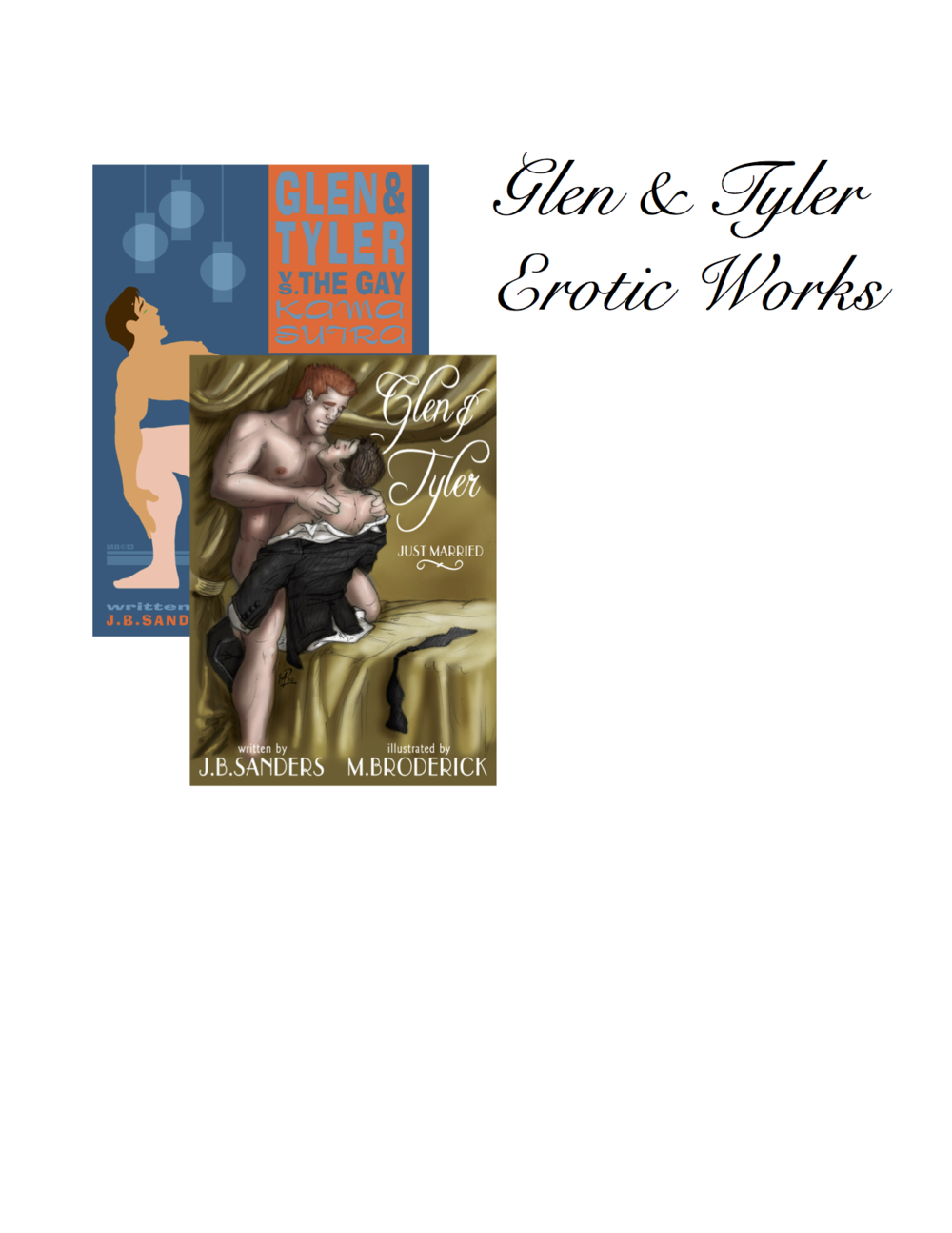 Glen & Tyler Illustrated Erotic Stories