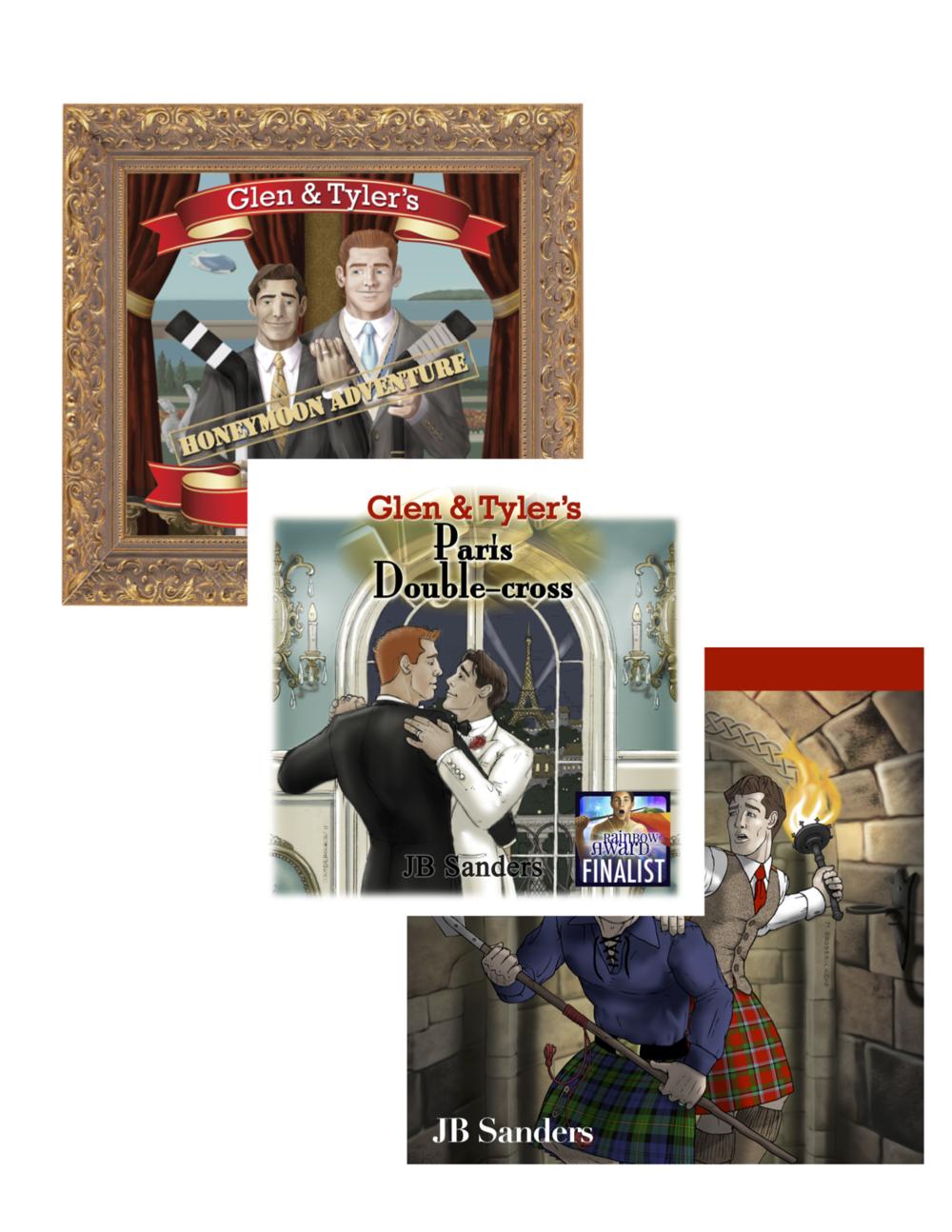 Glen & Tyler's adventures in audiobook form!