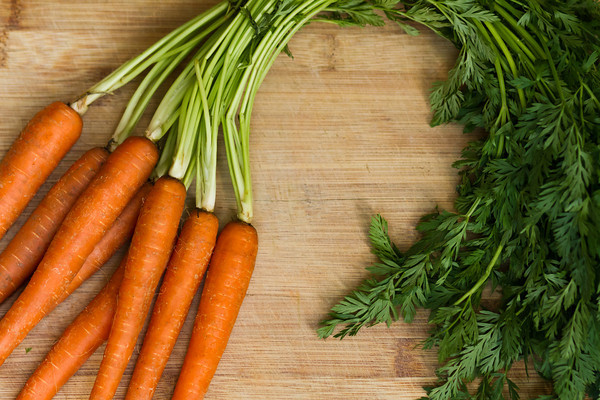 Carrots -Yes, spring carrots are here! Sweet & crisp, packed with nutrients. They bare absolutely no resemblance to super market carrots! $4/lb.