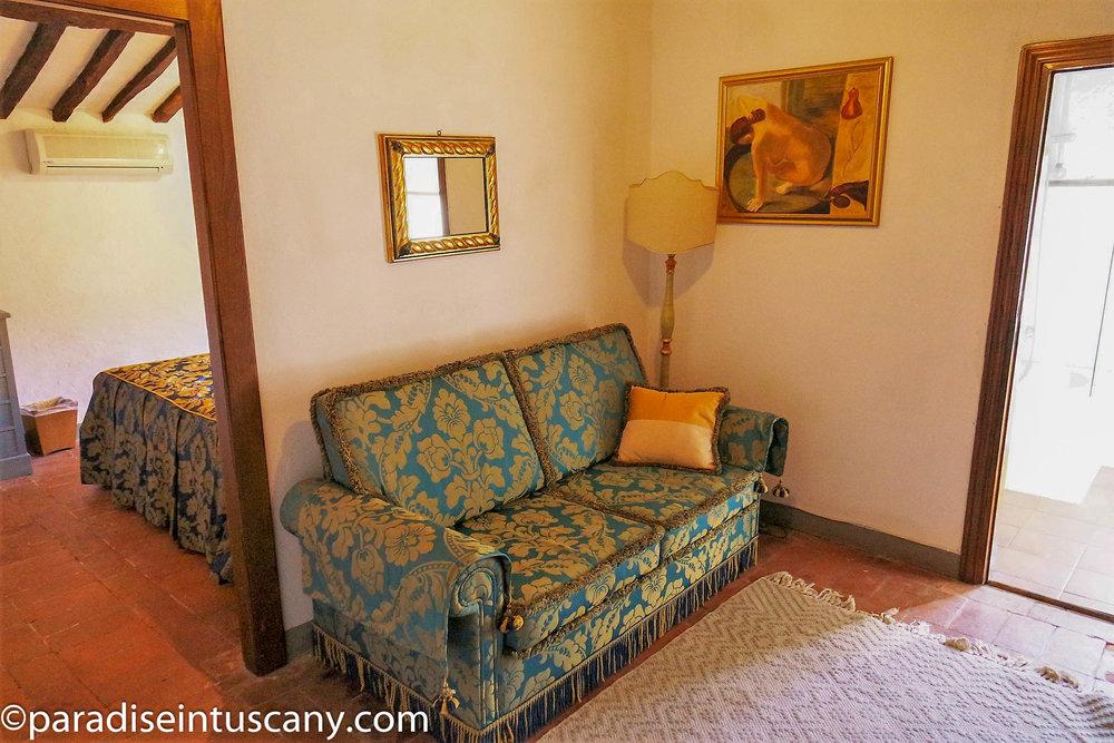 Villa del Cardinale: The suite on the 3rd floor