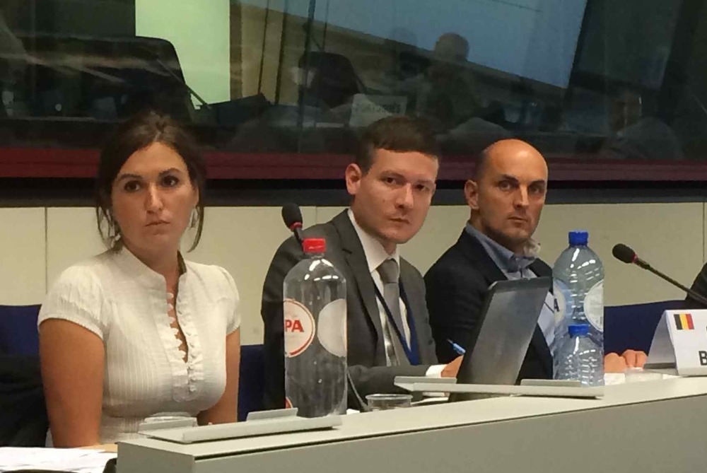 Member State representatives of Belgium at the 3rd Corridor Forum. (Photo MPC)