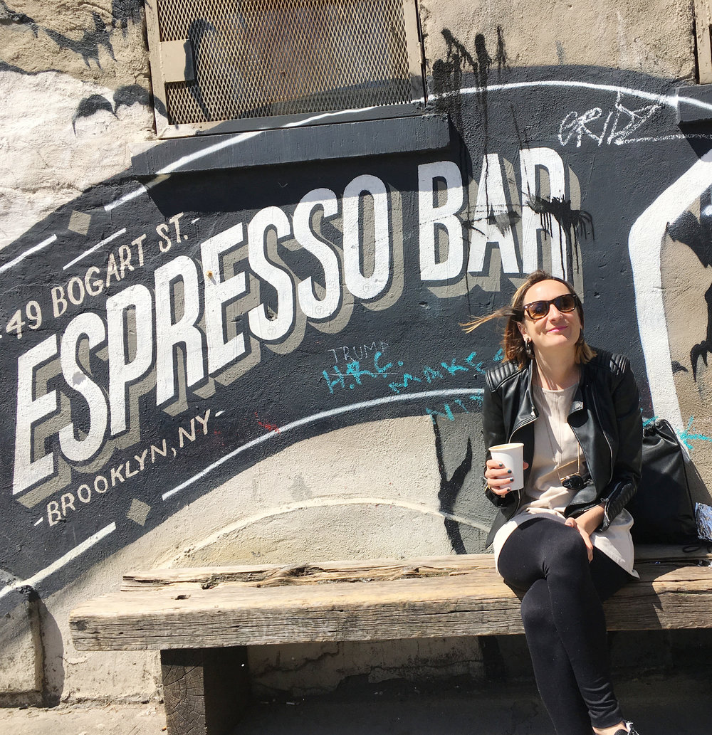 espresso bar brooklyn cafe cofee sara ibanez marin