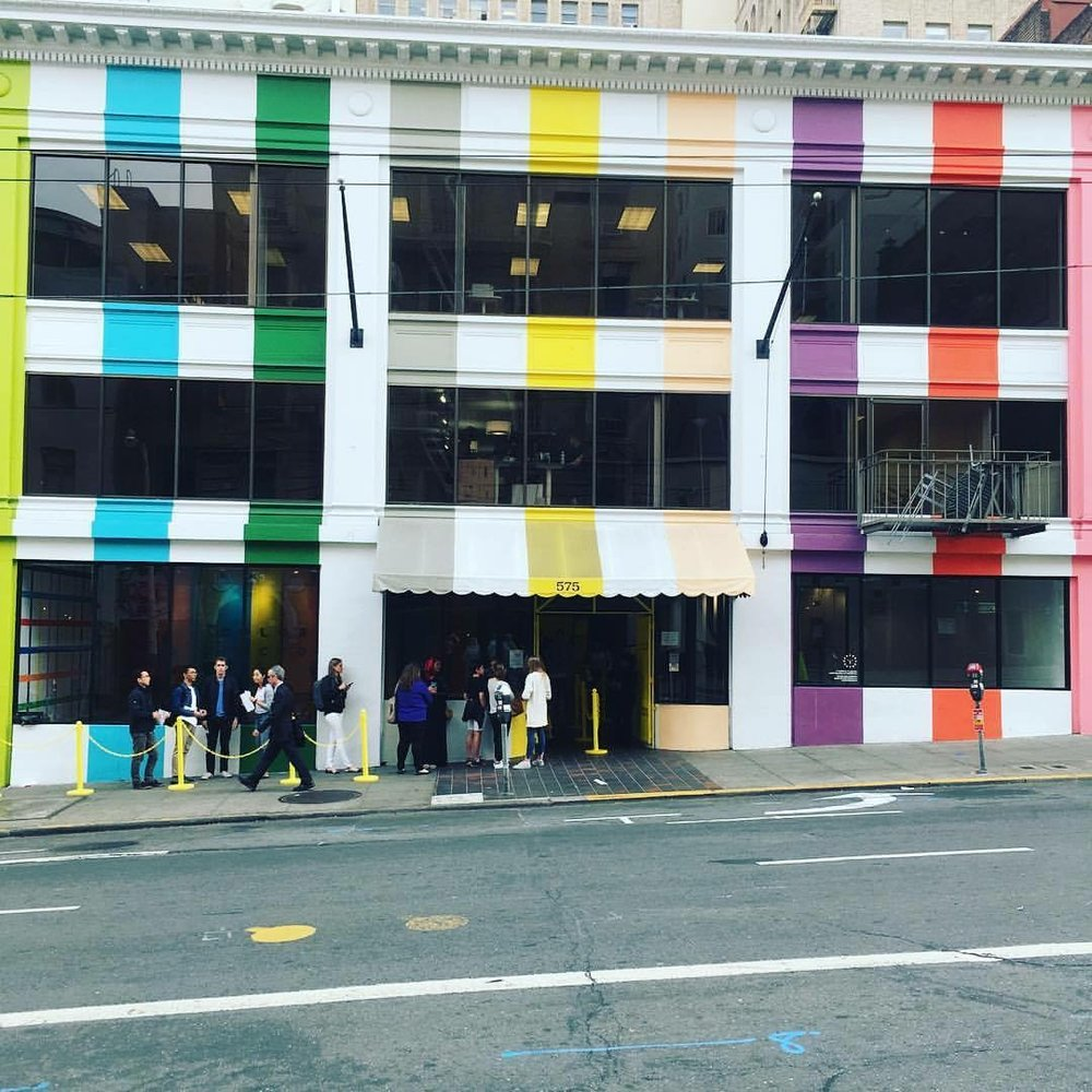 Color Factory Pop Up San Francisco