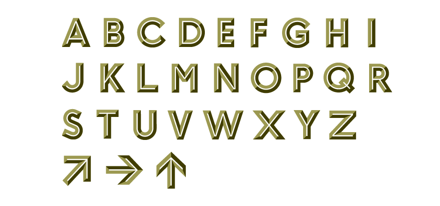 Union_Pearson_Express_Typography