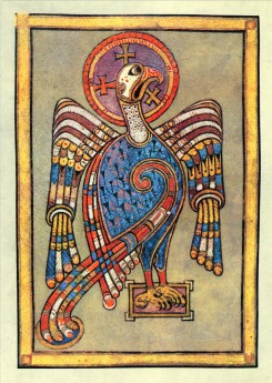 Illustration for the Gospel of John from the Book of Kells.