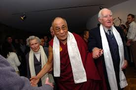 Kathleen Davey, Rev. Ray Davey and His Holiness the Dalai Lama.