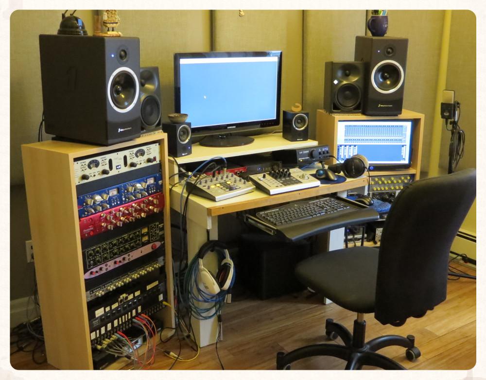 Nuvu Music control room