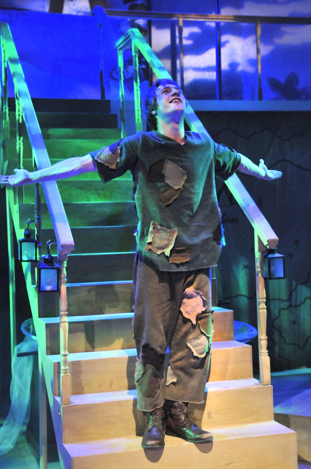 Peter Pan - Peter on stairs.jpg