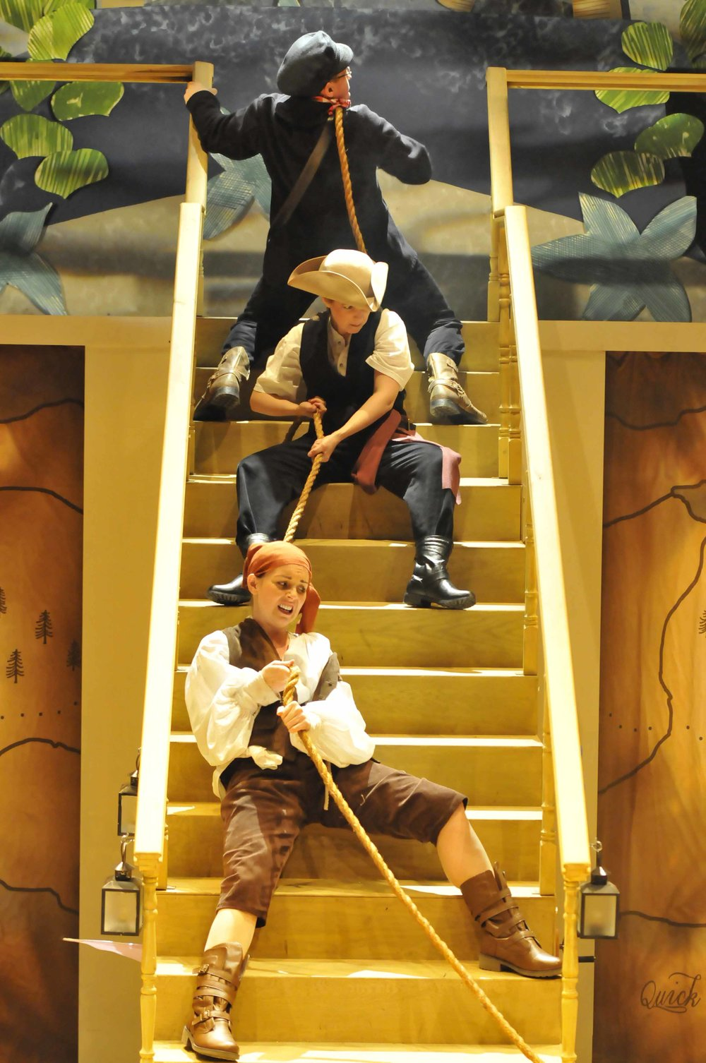 Peter Pan - pirates on stairs.jpg