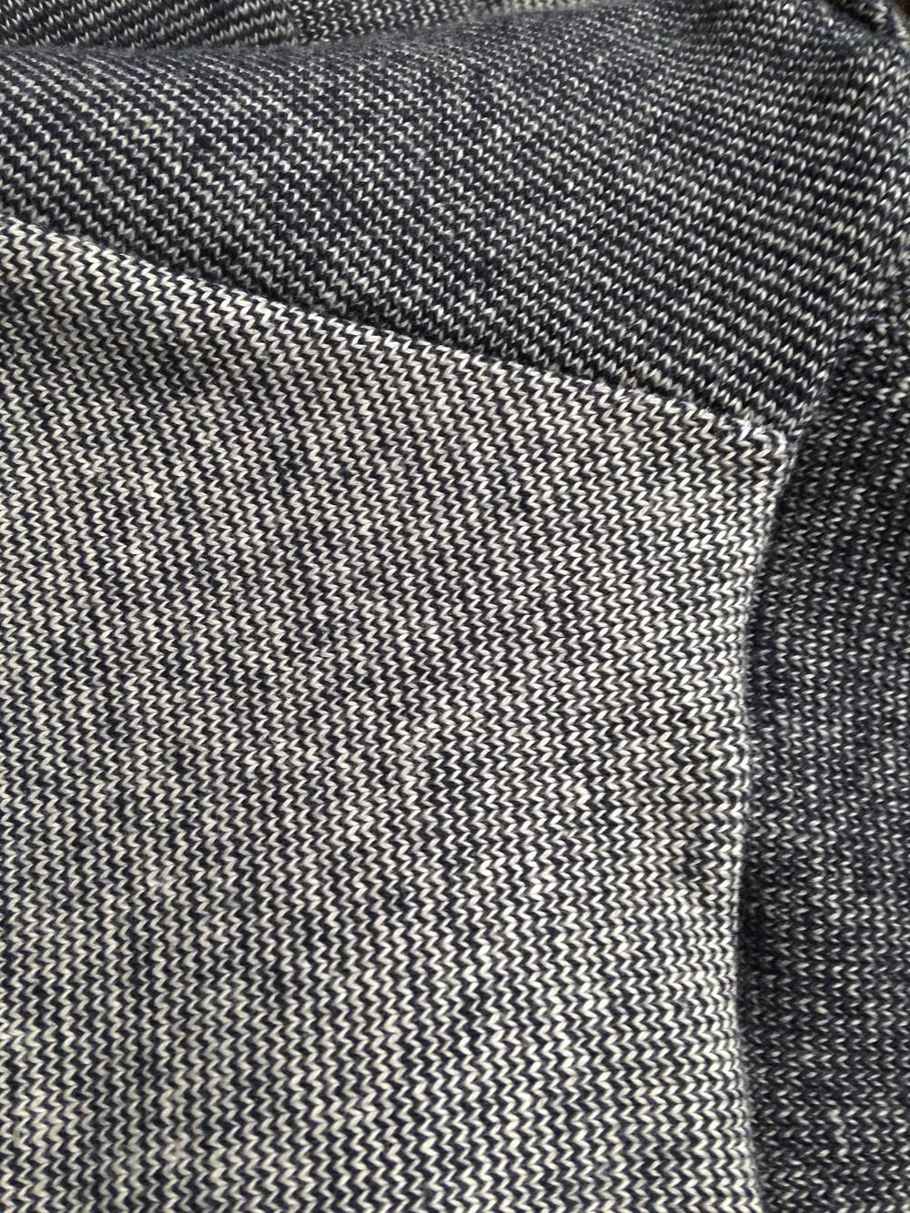 Sweatshirt fabric closeup