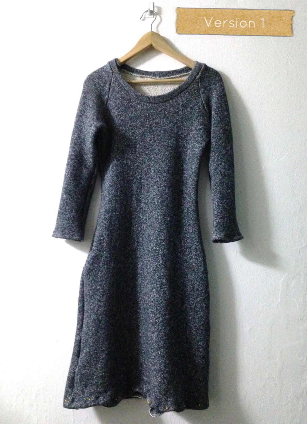 My Sweatshirt Dress, version 1