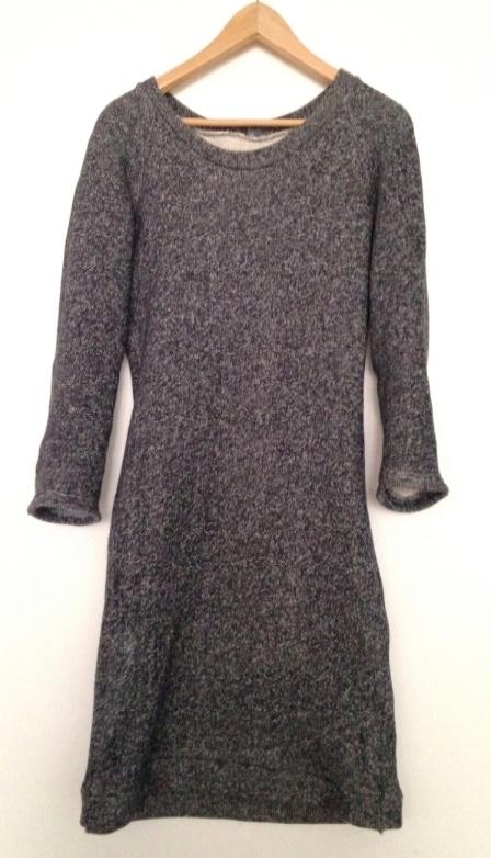 Sweatshirt dress - second and final version - fangaroni.com