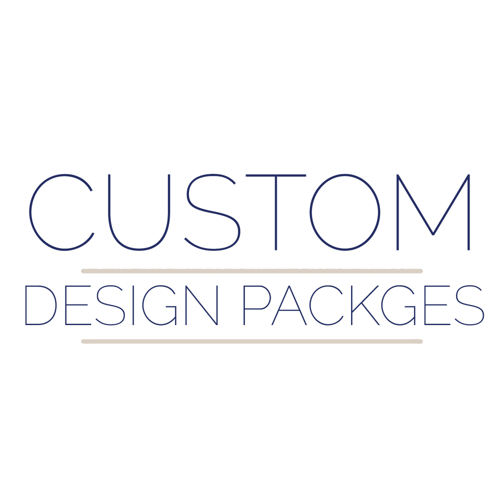 CUSTOM DESIGN PACKAGES