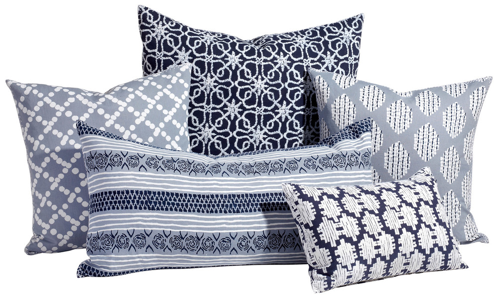 Bannu Pillow Collection, johnrobshaw.com, $100-$190