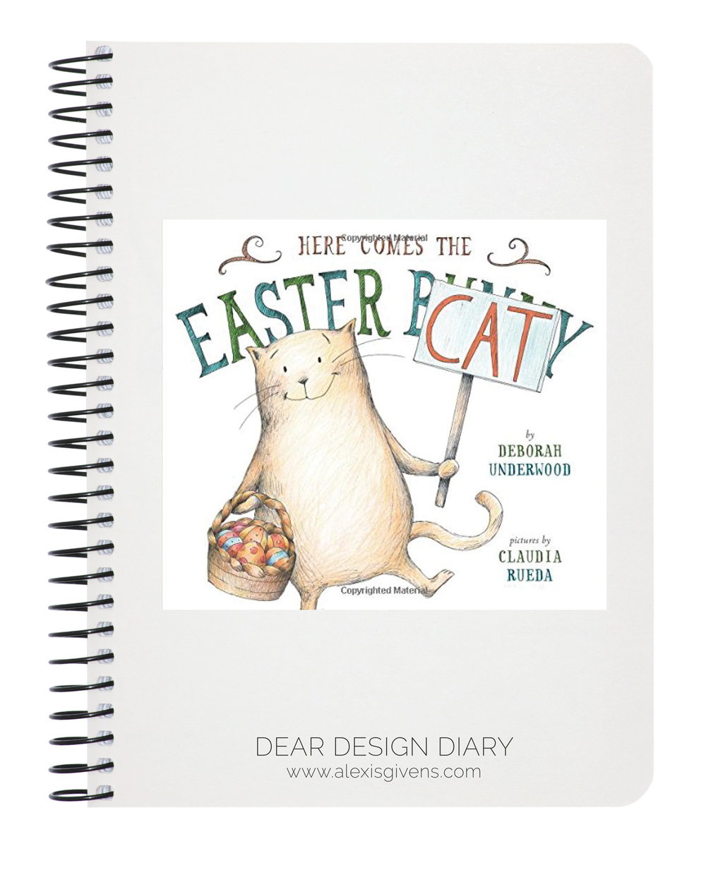 Here Comes the Easter Cat by Deborah Underwood,  amazon.com , $12.75