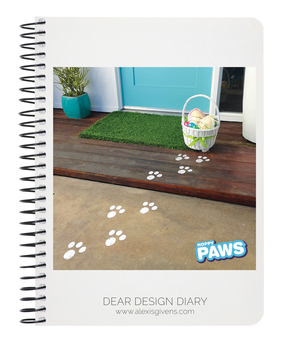 Easter Bunny Paw Print Stamp Kit,  hoppypaws.com , $6.99