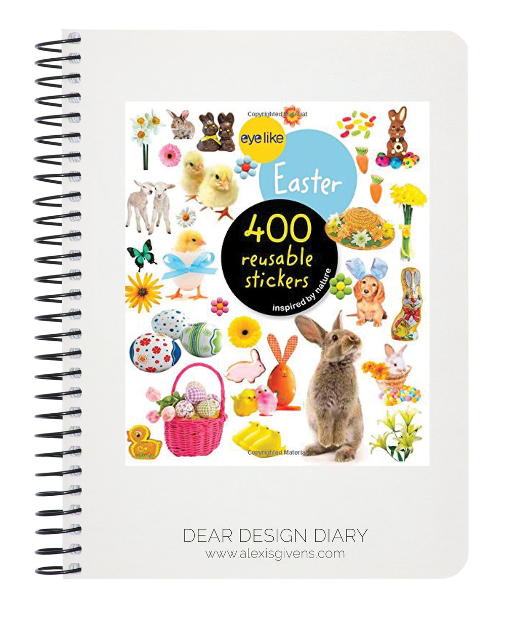 Easter Stickers,  amazon.com , $6.95