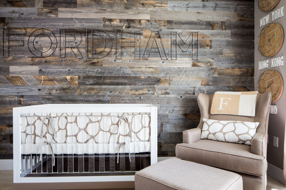 Reclaimed wood panels by Stikwood