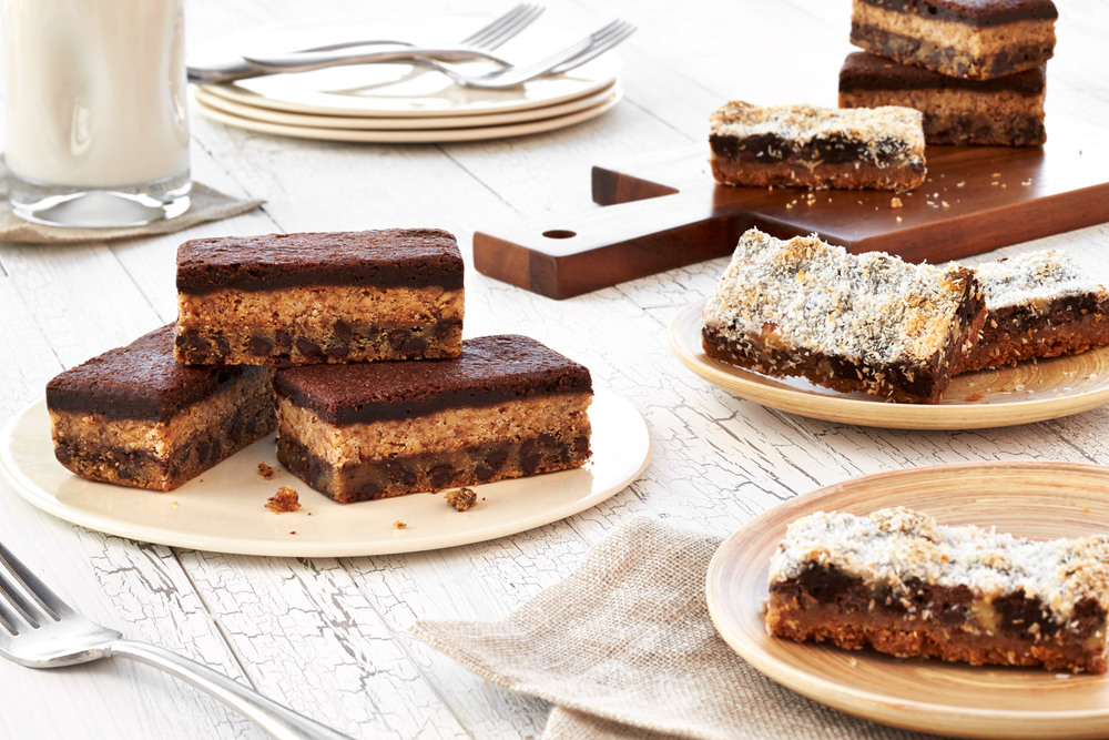 Triple Layer Cookie Bars & Magic Bars, carlahall.com, from $5
