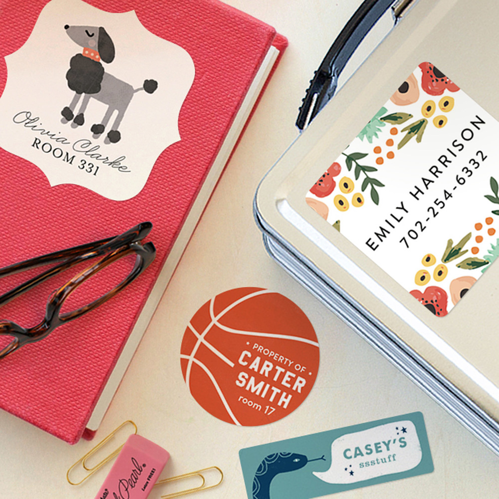 Alexis Givens Interiors | New Arrivals: Minted Labels for Kids | deardesigndiary.com
