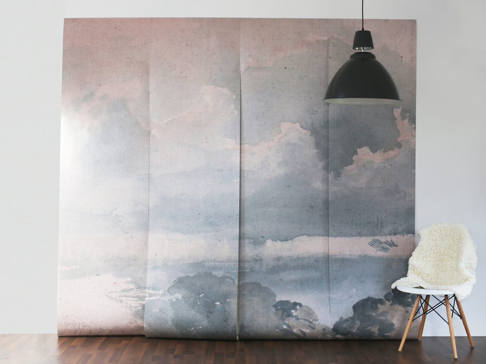Clouded Mural, anewall.com, $349