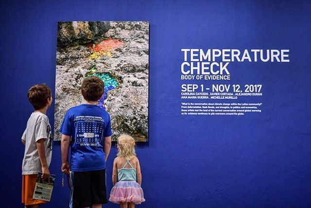 Temperature Check: Body of Evidence . If you are in San José, CA be sure to swing by MACLA for the current exhibition featuring the work of Latino artists exploring the artifacts and patterns of climate change through installation, drawing, video and photography! . #temperaturecheck #exhibition #MACLA #latinoartists #art #climatechange #stopplasticpollution #washedupproject #transformtrash #timetowakeup #knowyourwaste