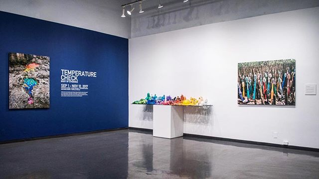 This week is your last chance to check out the exhibition Temperature Check: Body of Evidence at MACLA in San José, CA. Closes November 12th! . You don't want to miss Latino artists exploring the artifacts and patterns of climate change through installation, drawing, video and photography…so go go go before it's too late! . #temperaturecheck #exhibition #MACLA #latinoartists #art #climatechange #stopplasticpollution #washedupproject #transformtrash #timetowakeup #knowyourwaste