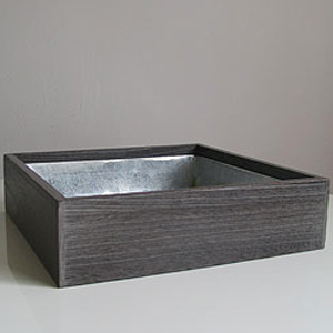 Dark Wood Tray