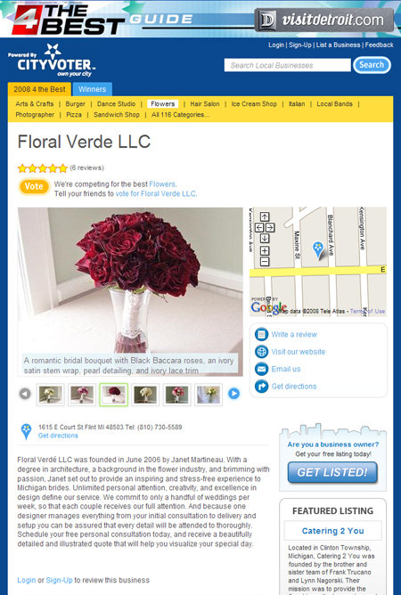 Floral Verde LLC listing