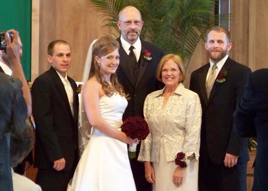 a family close up