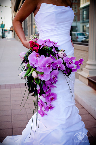 Cascade bouquet by Modern Day Floral.