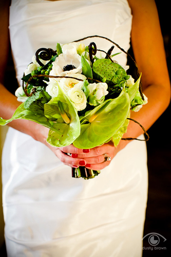 Eclectic hand tied bouquet by Modern Day Floral