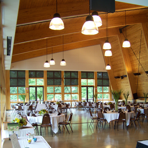the Environmental Discovery Center event room