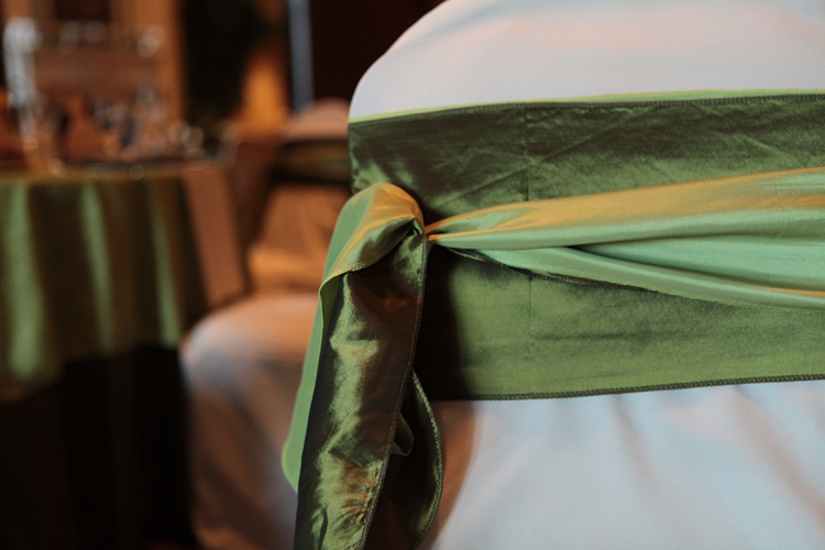gorgeous linens by Lorrie at Special Occasions in Grand Blanc, Michigan