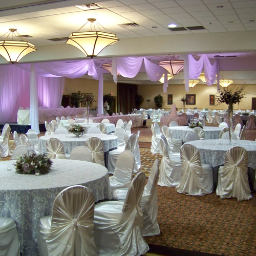 reception at the Holiday Inn Gateway in Flint