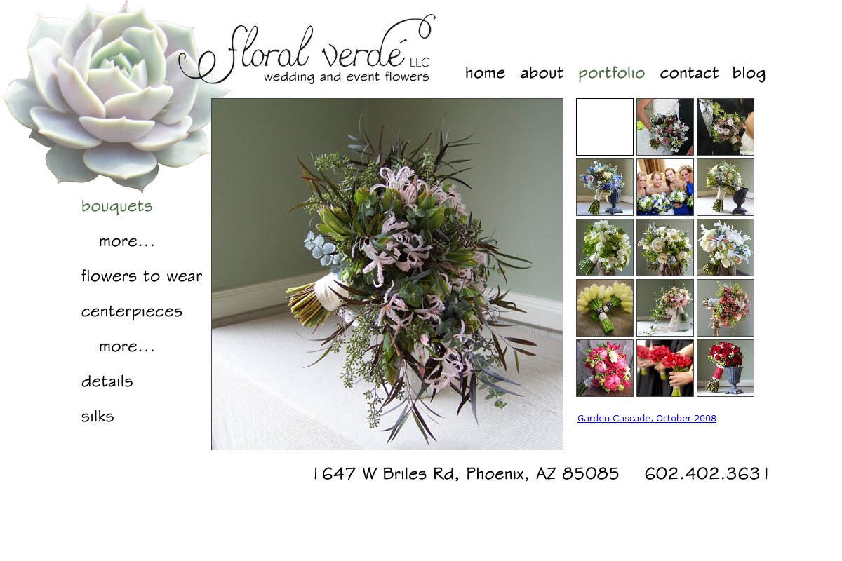 Floral Verde LLC's new website