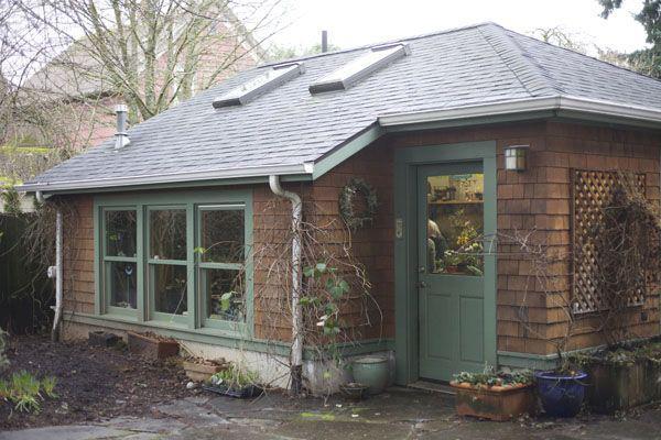 Françoise Weeks' floral studio, Portland, OR