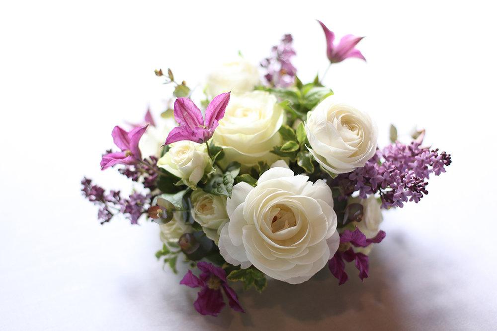 Wedding Reception at Longworth Hall in Cincinnati, Ohio. Flowers by Floral Verde.