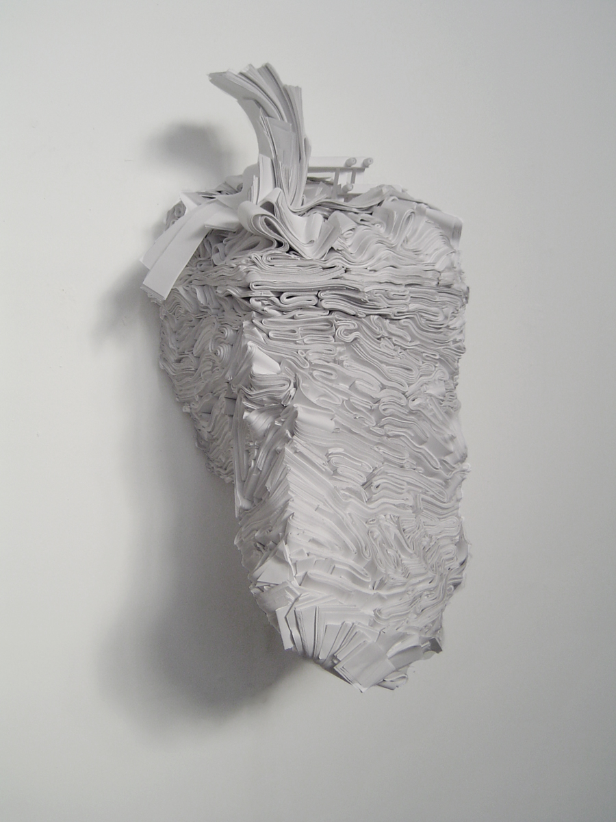 Better View , Paper, wood, motor, 2005