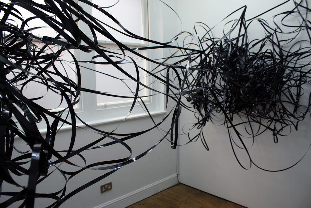Coil , plastic strapping and motors, 2009